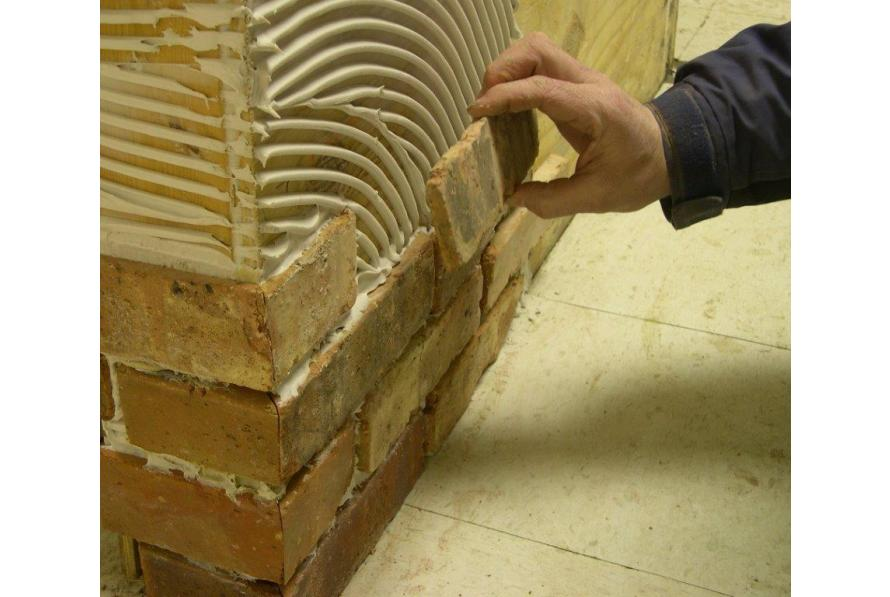 THE MYTH OF THE THIN BRICK INSTALLATION SYSTEM