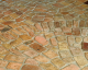 Mosaic Reclaimed Brick Tile Pieces Varied