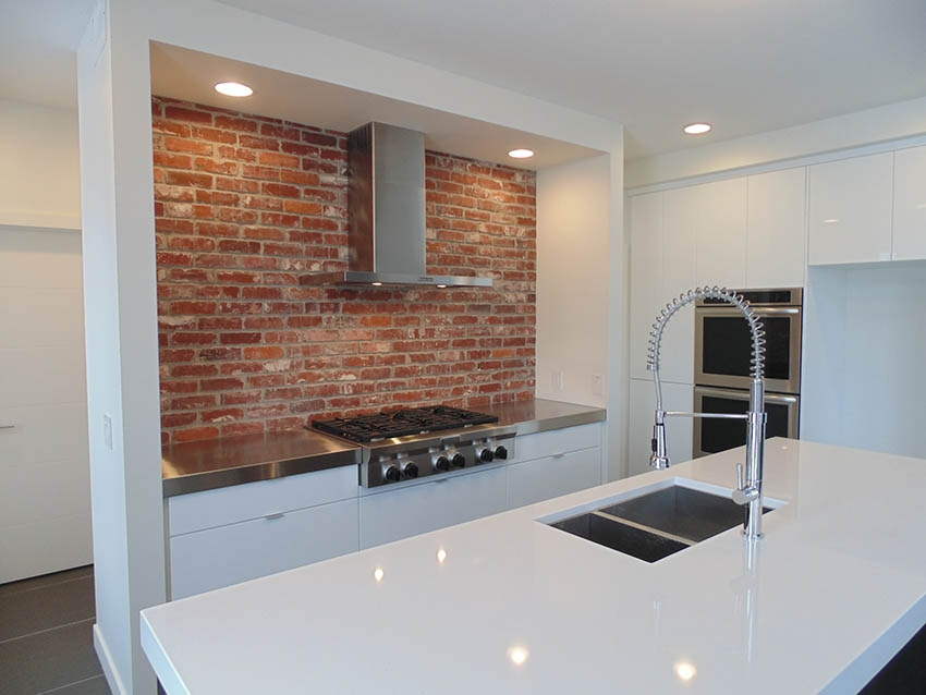 St Louis Thin Brick Kitchen